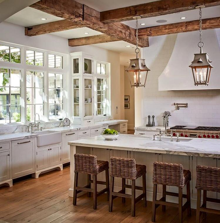 By Thompson Custom Homes: Friday Favorites: Farmhouse Kitchens