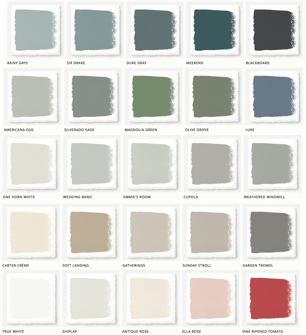 Perfect Blue Gray Paint Color