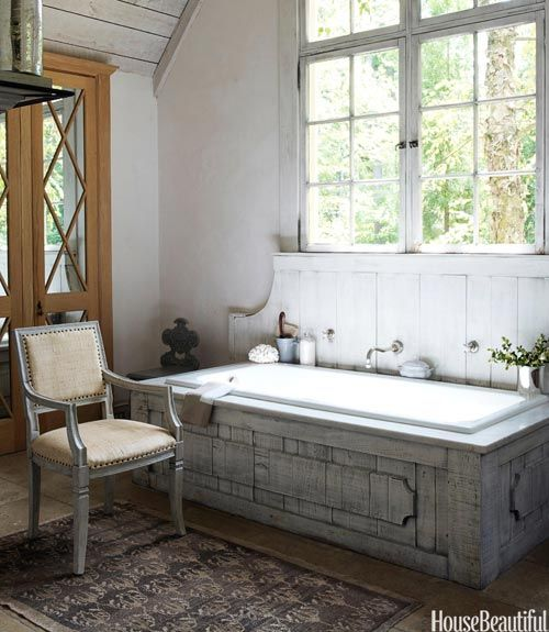 farmhouse bathrooms house of hargrove On farmhouse bathroom designs