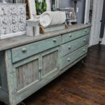 Antique counter