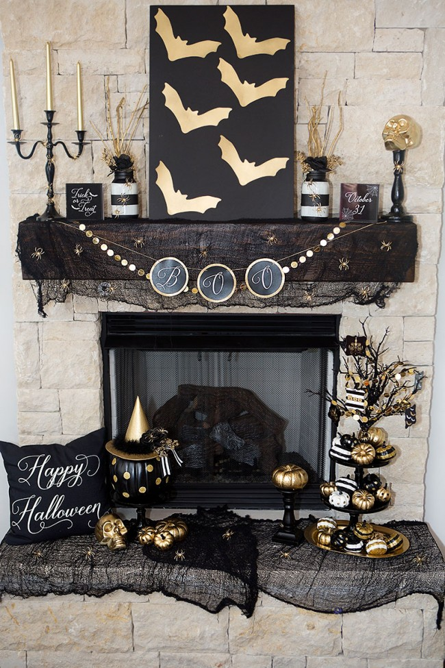 Lillian Hope Designs, Halloween Decor Ideas