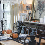 Spooky Tablescape-hocus pocus family night