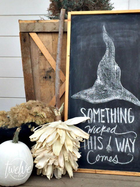 Twelve on Main, Halloween Porch Ideas via House of Hargrove