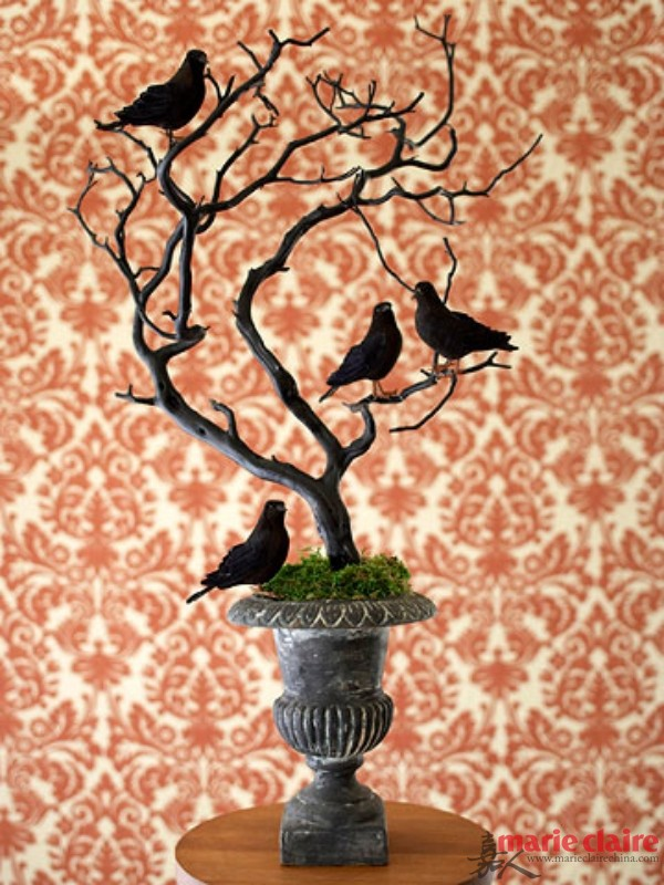 via BHG, Halloween Decor Ideas