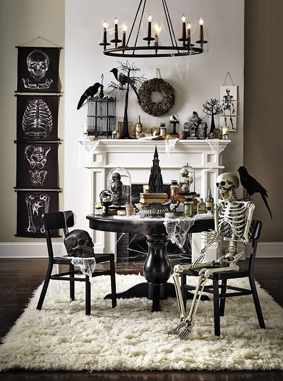 via Pinterest. Halloween Decor Ideas