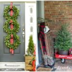 Beautiful Christmas Porches