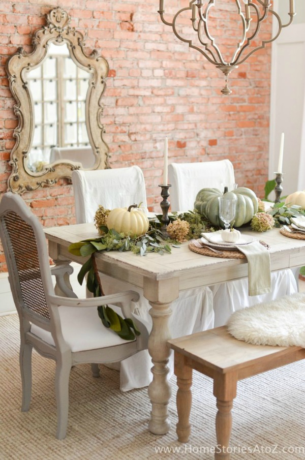 Home Stories A to Z, Thanksgiving Tablescapes via House of Hargrove