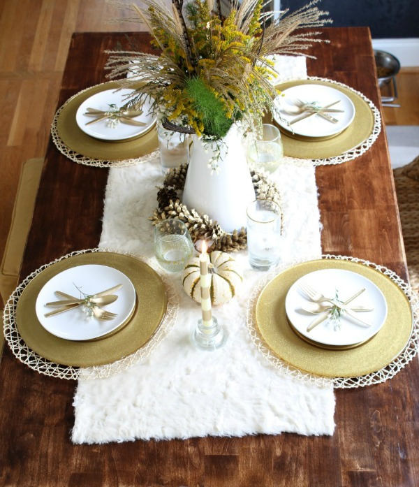 Simple Stylings, Thanksgiving Tablescapes via House of Hargrove