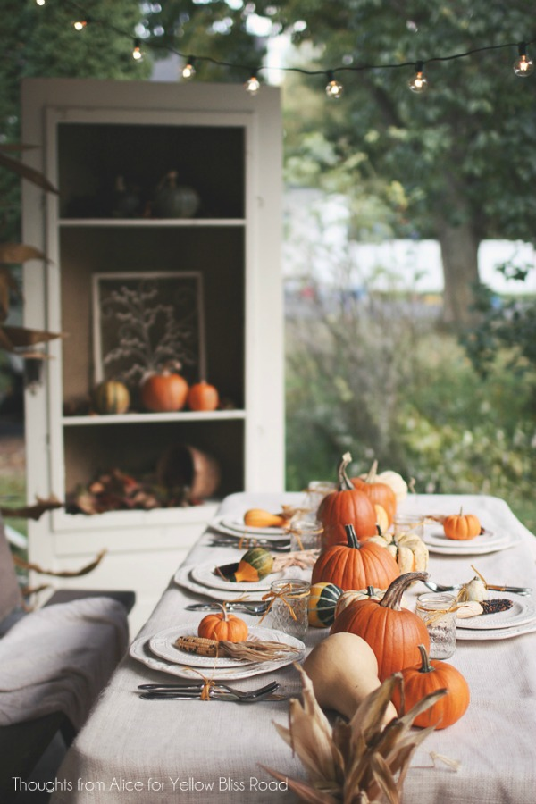 Thoughts from Alice, Thanksgiving Tablescapes via House of Hargrove