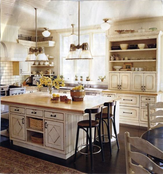 Farmhouse kitchens part 2 house of hargrove for Dream kitchens