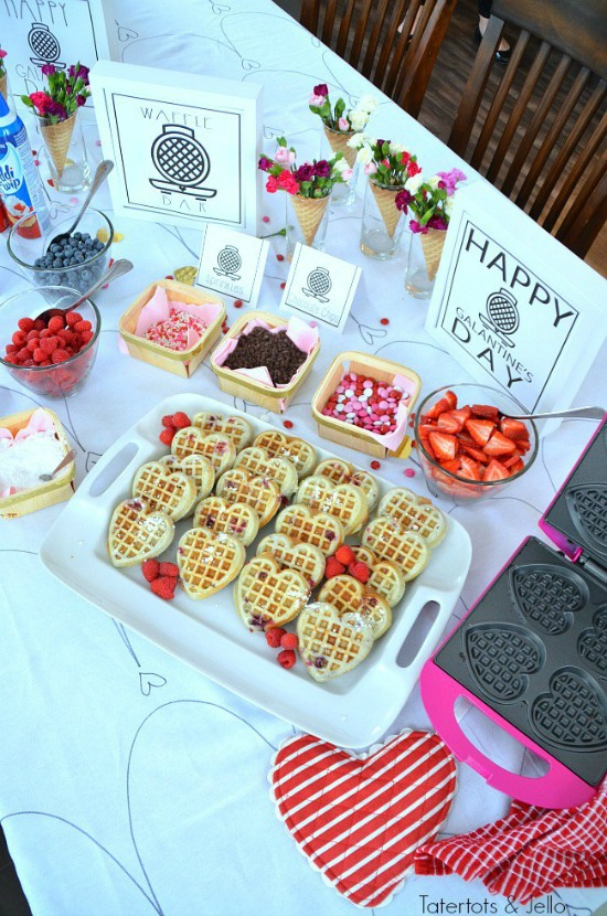 The Ultimate Galentines Party by Tatertots & Jello, 40 Valentines Day Ideas via House of Hargrove