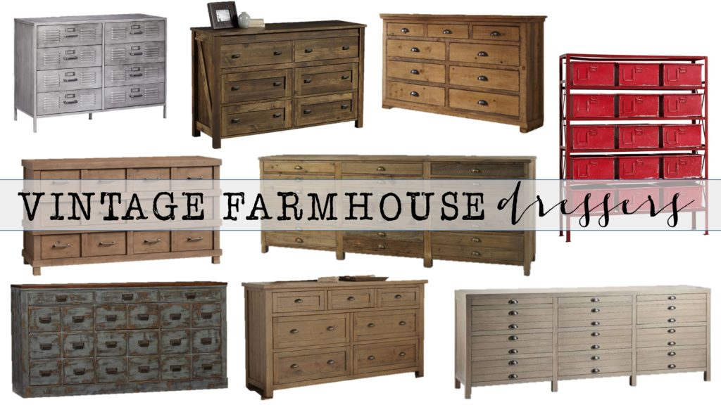Vintage Farmhouse Dressers