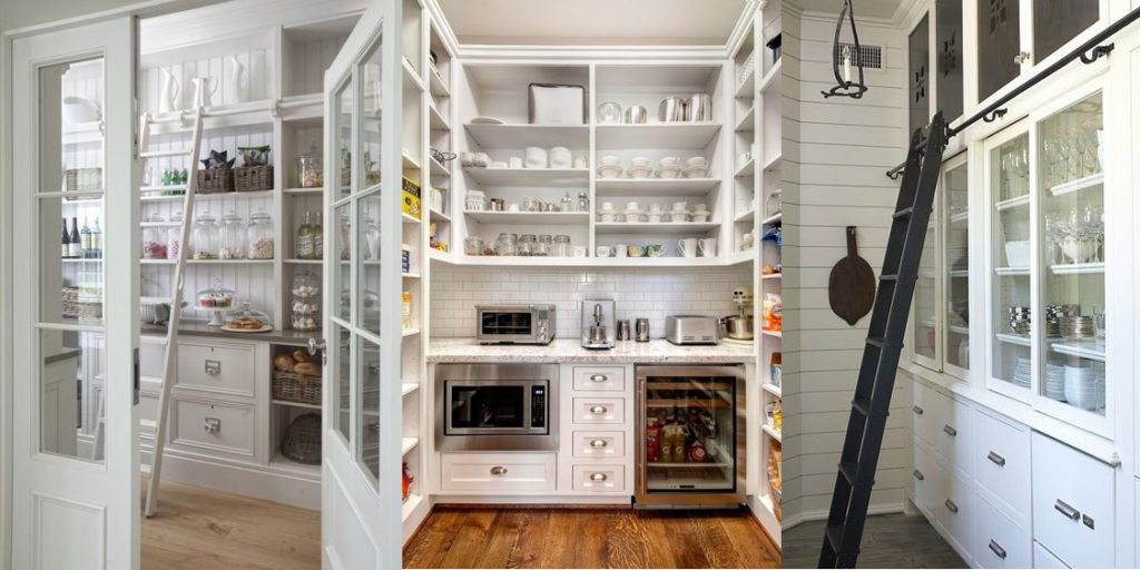 The Most Beautiful Pantries & Butler's Pantries