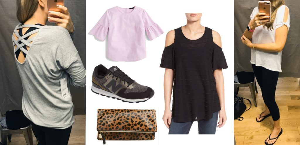 Wear it with Barrett: Athleisure, Sale Shoes, Clutches & Other Random Finds