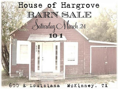 MARCH BARN SALE