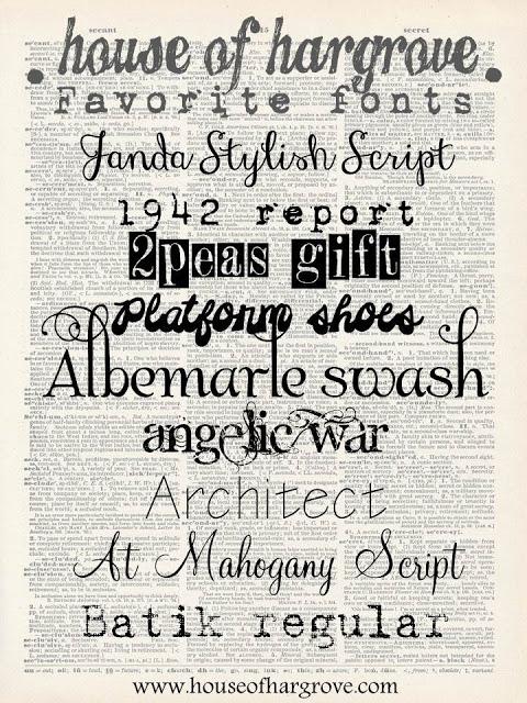I am a font addict
