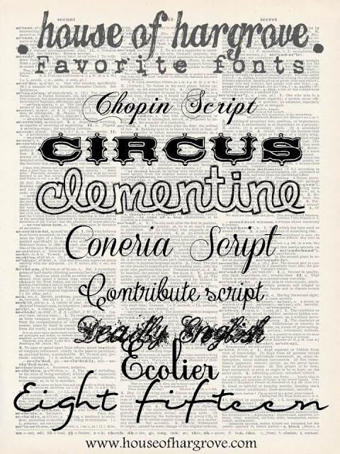I am a font addict part 2