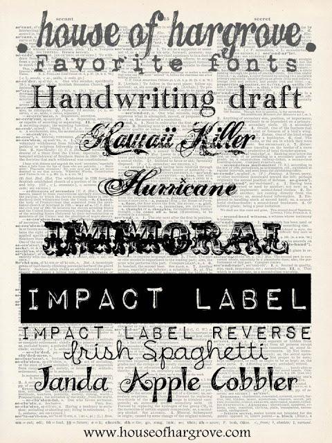 Still addicted to fonts