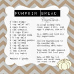 Baking fun…Pumpkin Bread