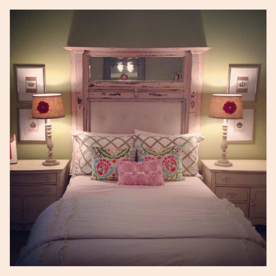 Avery's Big Girl Room-Cabinet & Ribbon Banner
