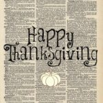Thanksgiving FREE Printables and Placemats