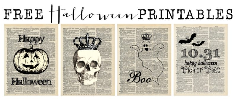graphic regarding Vintage Halloween Printable called 50+ Free of charge Halloween Printables - Home of Hargrove