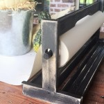 DIY Vintage Paper Cutter-less than $7