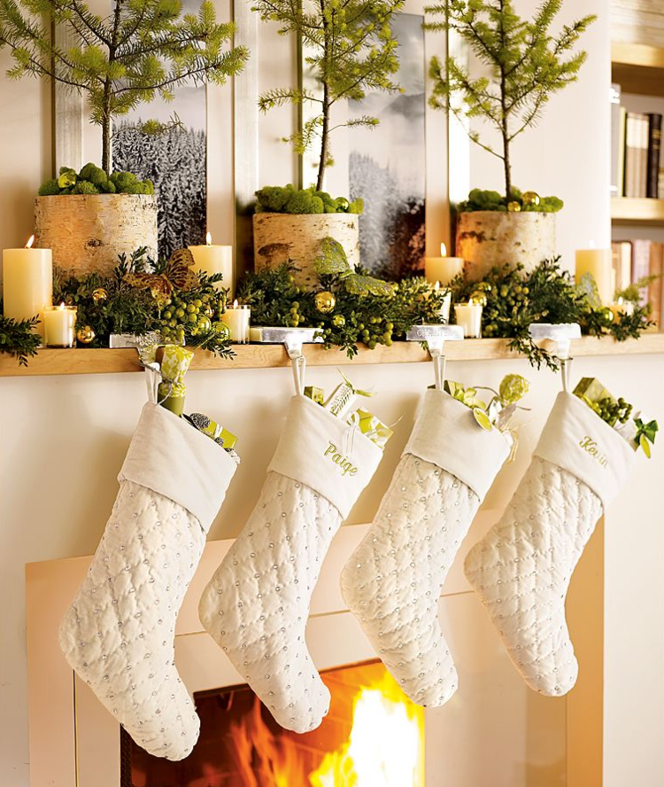 Beautiful Christmas Mantles House Of Hargrove