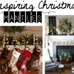Beautiful Christmas Mantles