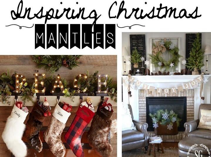Beautiful Christmas Mantles