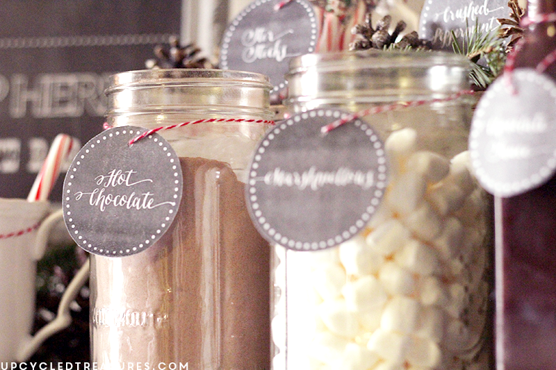 hot-chocolate-bar-toppings-with-free-chalkboard-labels-upcycledtreasures