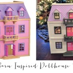 Dollhouse Makeover-Pottery Barn Inspired