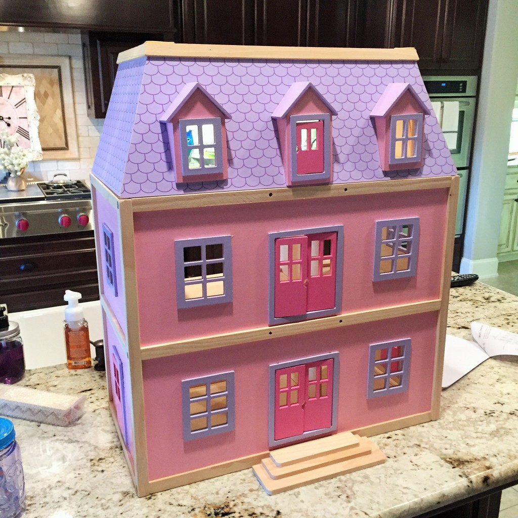 Dollhouse Makeover-Pottery Barn Inspired - House of Hargrove