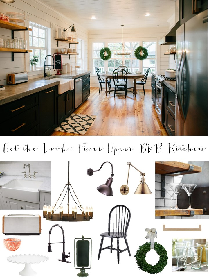Get The Look Fixer Upper BB Farmhouse Kitchen