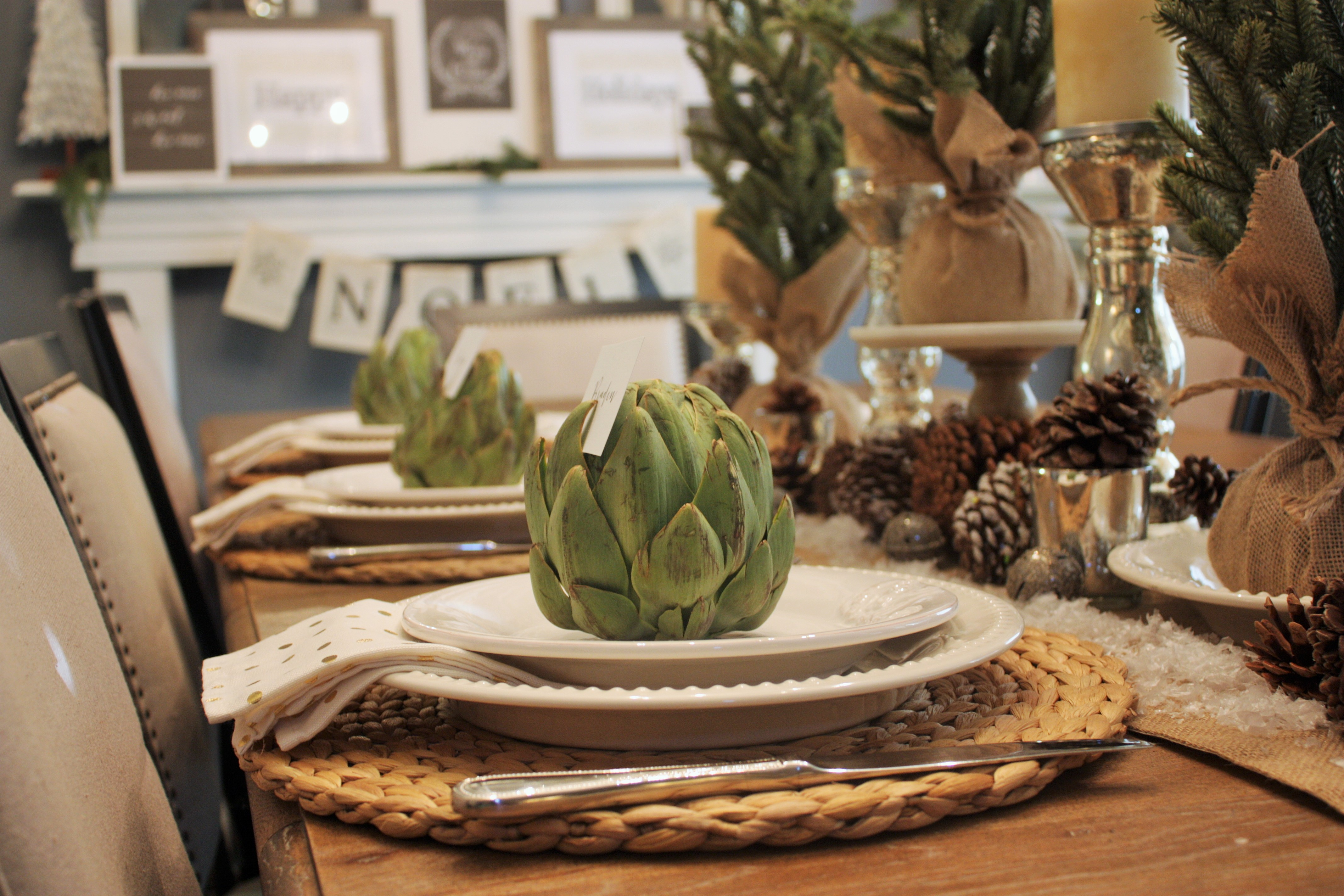 Holiday Tablescape House Of Hargrove