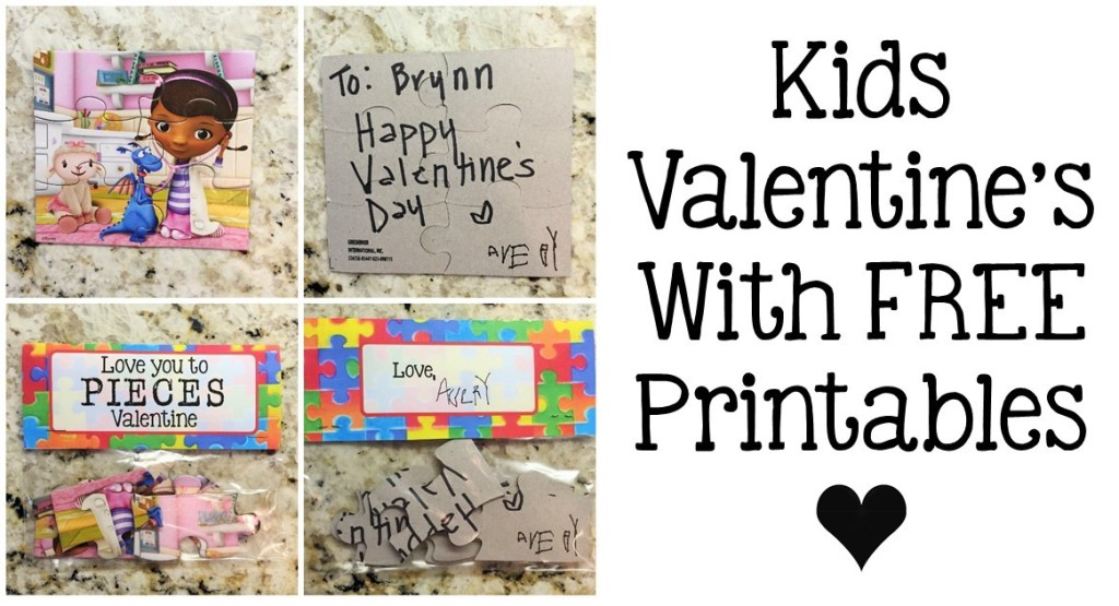 Kids Valentines – No Candy, Free Printable