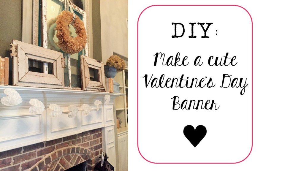 Valentine's Day Banner-Simple, Chic