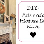 Valentine's Day Banner-Simple, Chic