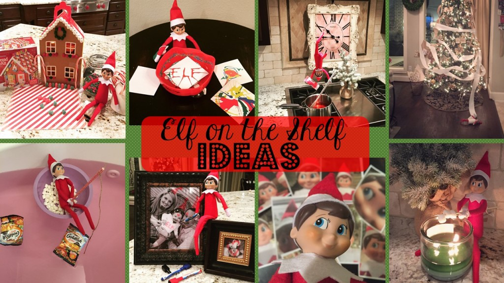 Elf on the Shelf Ideas-lots of new ones