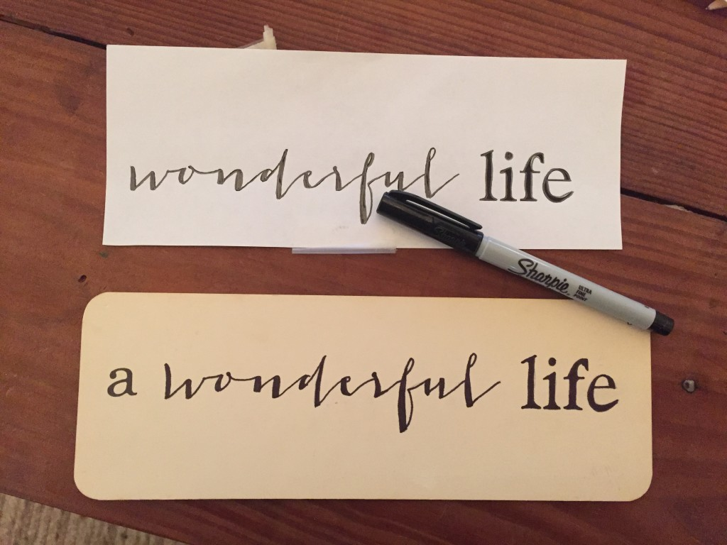 how to transfer lettering to make art (10)