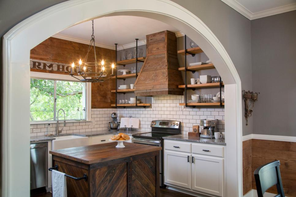 Fixer Upper Kitchen Before Amp Afters House Of Hargrove