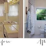 Fixer Upper Bathroom Before & Afters
