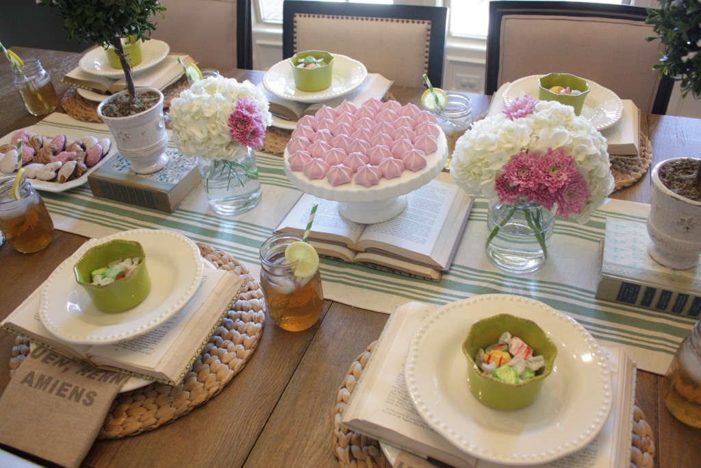 Tea Party Tablescape {Sponsored by Tuesday Morning}