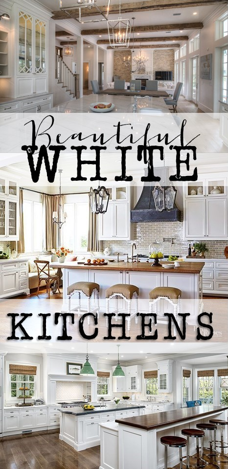 Beautiful White Kitchens 15