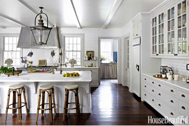Get inspired by these stunning white kitchens.