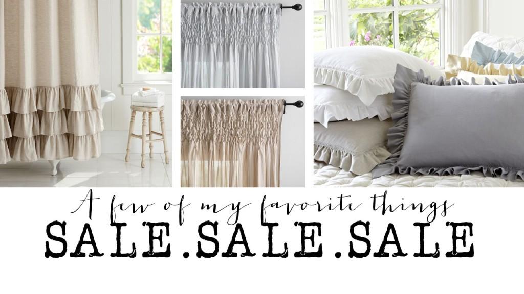 SALE – A few of my favorite things