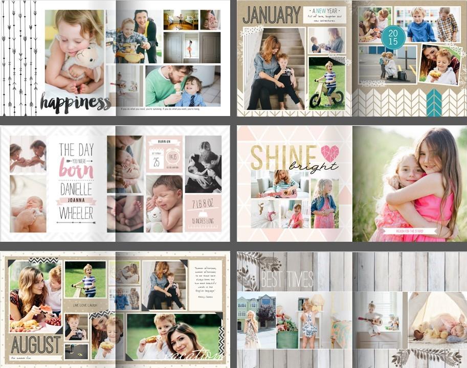 Family memory books (1)