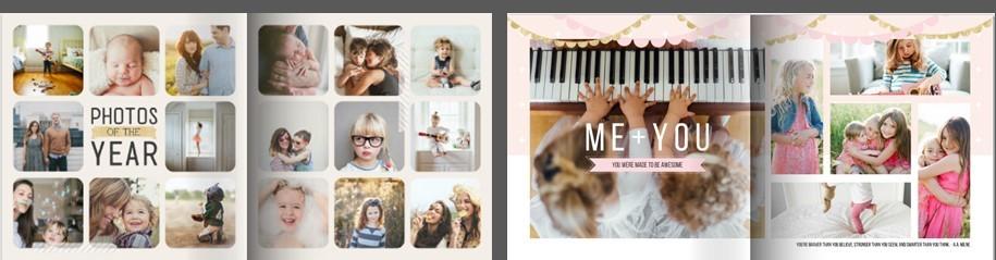 Family memory books (2)