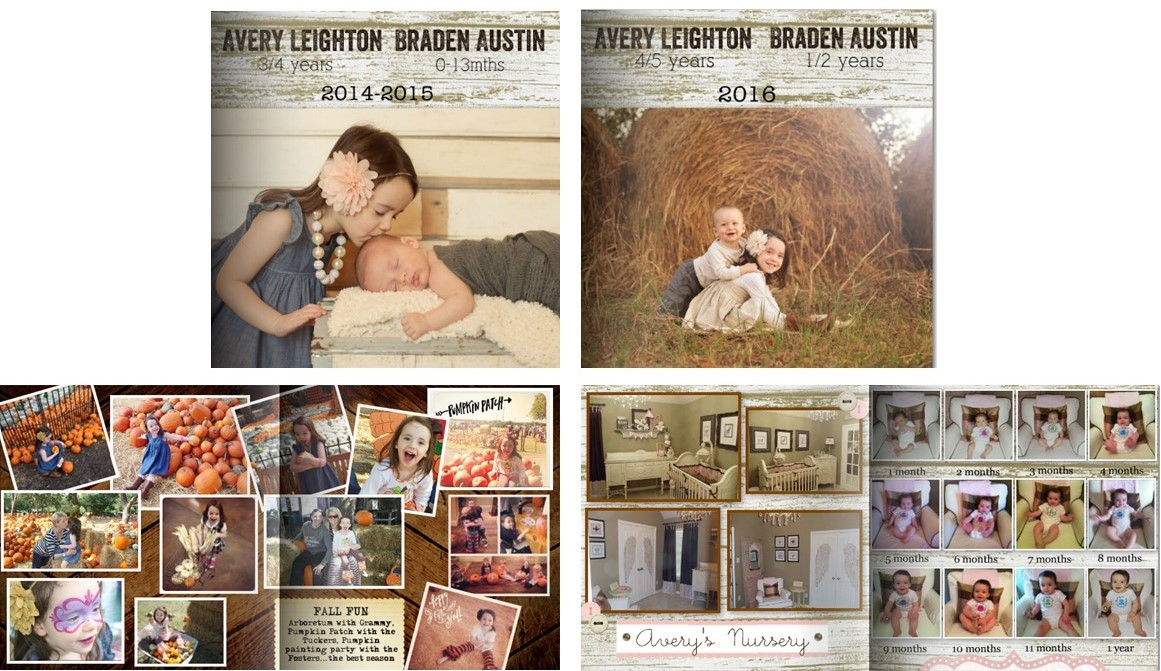 Family memory books (9)