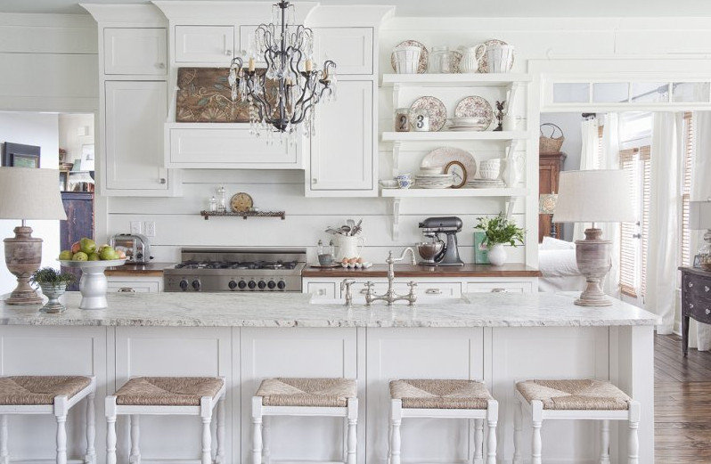 beautiful farmhouse kitchen - White Farmhouse Kitchen